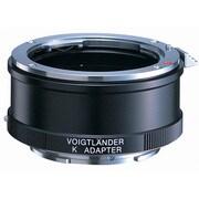 K E-mount Adapter BK [マウントアダプター レンズ側:ペンタックスK ボディ側:ソニーE ブラック]