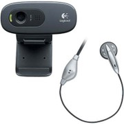 C270m [USB接続 WEBカメラ 120万画素 ヘッドセット付モデル Logicool HD Webcam C270m]