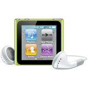 iPod nano 16GB グリーン [MC696J/A 第6世代]