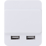 "TR-DUSLIDE2A-WT [2ポート2A USB充電器 ""Dual USB Charger Slide 2A(デュアル・ユーエスビー・チャージャー・スライド・ツーエー)"" ホワイト]"