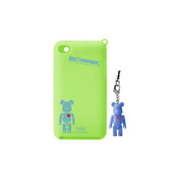 RA-SC44BC [第4世代iPod touch用シリコンケース BE@RBRICK silicone case for iPod touch 4th シアンブルー]
