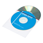 FCD-FT50W [裏面シール付DVD・CD不織布ケース ティアテープ付・50枚入り]