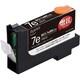 互換インク PLE-ZCA07EB ブラック( )(キヤノン BCI-7eBK互換)