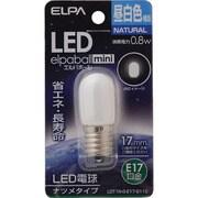 LDT1N-G-E17-G110 [LED電球 ナツメ球形 E17口金 昼白色 40lm LED elpaball mini エルパボール ミニ]