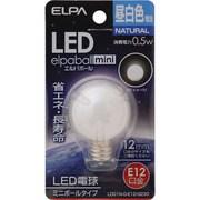 LDG1N-G-E12-G230 [LED電球 E12口金 昼白色 18lm LED elpaball mini(エルパボール ミニ)]