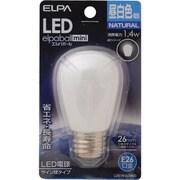 LDS1N-G-G900 [LED電球 サイン球タイプ E26口金 昼白色 60lm LED elpaball mini エルパボール ミニ]