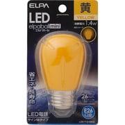 LDS1Y-G-G903 [LED電球 サイン球タイプ E26口金 イエロー LED elpaball mini エルパボール ミニ]