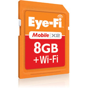 EFJ-MB-8G Eye-Fi(アイファイ) Mobile X2 [SDHCカード CLASS6 8GB]