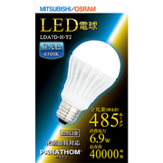 LDA7D-H-T2 [LED電球 E26口金 昼光色相当 485lm 下方向 PARATHOM(パラトン)]
