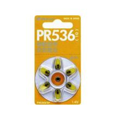 PR536S/6P [補聴器用空気電池 6個]
