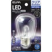 LDS1CN-G-G905 [LED電球 サイン球タイプ E26口金 昼白色 クリア 60lm LED elpaball mini エルパボール ミニ]