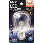LDS1CL-G-G906 [LED電球 サイン球タイプ E26口金 電球色 クリア 55lm LED elpaball mini エルパボール ミニ]