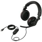 BSHSUH05BK [両耳ヘッドバンド式ゲーミングヘッドセット 5.1chサラウンドモデル]