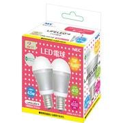 LDA5L-H-E17-2P [LED電球 E17口金 電球色相当 410lm LIFELED'S 2個パック]