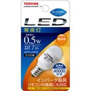 LDT1L-H-E12 [LED電球 E12口金 電球色 7lm E-CORE(イー・コア)]