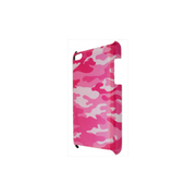 "RA-PU455P [第4世代iPod touch用カモフラージュジャケット ""CAMOUFLAGE "" ピンク]"
