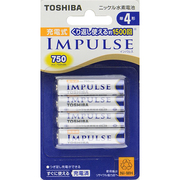 TNH-4A 4P [IMPULSE インパルス ニッケル水素電池 単4形 4本]