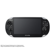 PlayStation Vita 3G/Wi-Fiモデル [クリスタル・ブラック 限定版 PCH-1100 AB01]