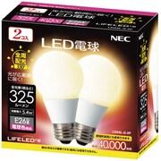 LDA5L-G-2P [LED電球 E26口金 電球色相当 325lm LIFELED'S 2個入]