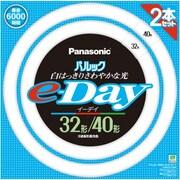 FCL3240EXDE2TF [丸形蛍光灯 パルックe-Day 3波長形昼光色 32形+40形(30W+38W) 各1本入]