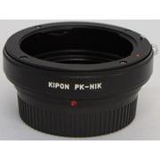 P/K-NIKON [マウントアダプター レンズ側:ペンタックスK(DAレンズ) ボディ側:ニコンF]