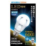 LDA8D-G [LED電球 E26口金 昼光色相当 600lm 全方向]