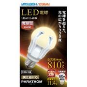 LDA11L-G/D [LED電球 E26口金 電球色相当 810lm 全方向]