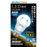 LDA11D-G/D [LED電球 E26口金 昼光色相当 900lm 全方向]