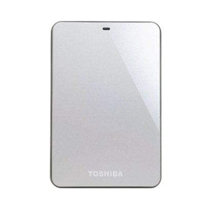 HDTC610JS3A1 [USB3.0接続 ポータブルハードディスク 1TB シルバー]