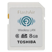 SD-WL008G [無線LAN搭載SDHCメモリカード FlashAir CLASS6 8GB]