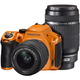 K-30 ダブルズームキット シルキーオレンジ [ダブルズームキット 「smc PENTAX-DA L 18-55mm F3.5-5.6 AL」+「smc PENTAX-DA L 55-300mm F4-5.8 ED」]