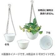 吊り鉢ライト [6号 WH]