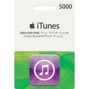 iTunes Card 5,000円分