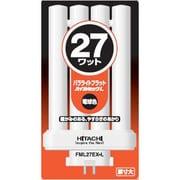 FML27EX-L [コンパクト形蛍光ランプ パラライトフラット GX10q-4口金 ハイルミック電球色(3波長形電球色) 27形]