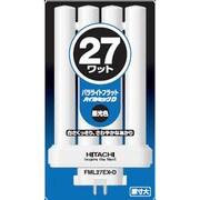FML27EX-D [コンパクト形蛍光ランプ パラライトフラット GX10q-4口金 ハイルミックD色(3波長形昼光色) 27形]