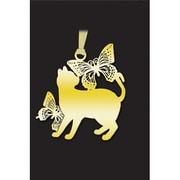 CAT003 キャットブックマーク [猫と蝶G]