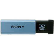 USM32GTL [USB3.0USBメモリーTシリーズ32GBブルー ポケットビット]