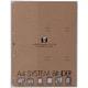 エトランジェ・ディ・コスタリカ アルバム BASIS フォトポケット レフィル A4 縦 クラフト (A4RF-G-21) 1パック5枚入
