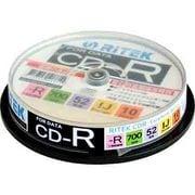 CD-R700EXWP.10RT C [データ用CD-R 1~52倍速 700MB 10枚]