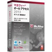 マカフィー オール アクセス 2013 オフィス・家族向け 5ユーザー用 [Windows/Mac/Android用ソフト 5台・1年利用可能]