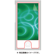 RT-N7BF/C2 [iPod nano 第7世代用 気泡軽減・高光沢・防指紋保護フィルム 2枚]