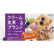 バランスアップ クリーム玄米ブラン ブルーベリー 2枚×2袋 [栄養機能食品]