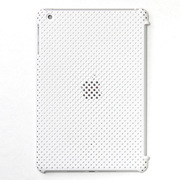 IRMSM100-MWH [IRUAL MESH SHELL Case for The iPad mini マットホワイト]