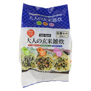 大人の玄米雑炊6食セット [健康食品]
