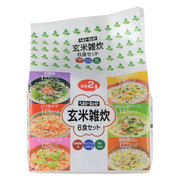 玄米雑炊 6食セット [健康食品]