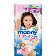 ムーニーマン エアフィット Lサイズ 女の子用 [パンツタイプ 44枚]