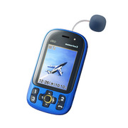 mamorino3(マモリーノ3) KYY05 ブルー [GPS防犯ブザー付ケータイ]