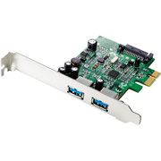 US3-2PEXS [Windows Server OS対応USB 3.0/2.0インターフェイスボード]