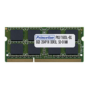 PDN3/1600L-8G [PC3L-12800(DDR3L-1600) CL=11 204PIN SO-DIMM 8GBx1枚組]