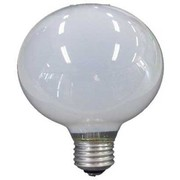 GW100V57W95 [白熱電球 ボール電球 E26口金 100V 60W形(57W) 95mm径 ホワイト]